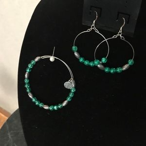 Alex and Ani Bracelet and Earrings